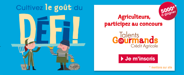 Concours Talents Gourmands